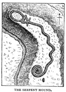 Serpent Mound. Public Domain